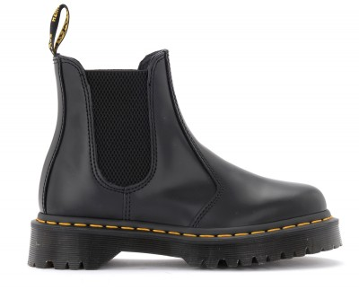 Anfibio Dr. Martens 2976 Bex Smooth in pelle nera