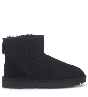 UGG Classic II Mini ankle boots in black suede