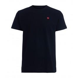 Comme Des Garçons T-Shirt  PLAY Schwarz mit rotem Herz