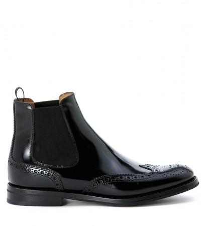 Church's Beatle-Boots Mod. Ketsby aus Leder in Schwarz