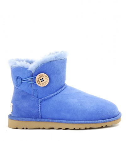 Stivale Ugg Mini Bailey Button blu