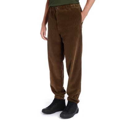 Laterale Kenzo Jogging Hose in Samt Braun