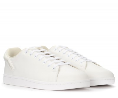 Laterale Sneakers Raf Simons Orion bianca