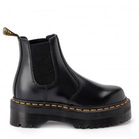 Dr. Martens Beatle boots Quad mit Plateausohle