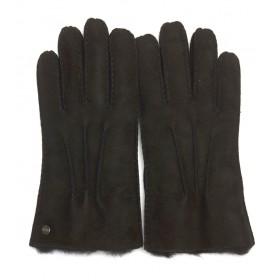 Ugg Handschuhe Schwarz Wildleder
