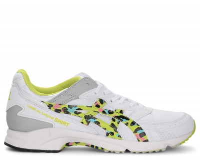 Sneakers Comme Des Garcons Shirt x Asics in mesh giallo multicolor