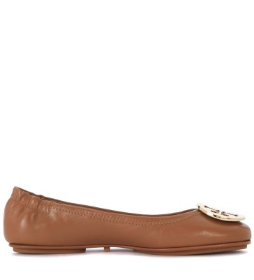Ballerina Tory Burch Minnie Travel in nappa cuoio