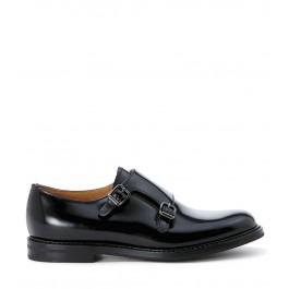 Chaussures à lacets Church's Lora en cuir lucide noir