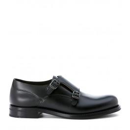 Chaussures Church's Lucy en cuir opaque noir