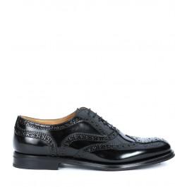 Chaussures à lacets Church's Burwood en cuir verni noir