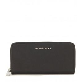 Portefeuille Michael Kors en peau saffiano noir