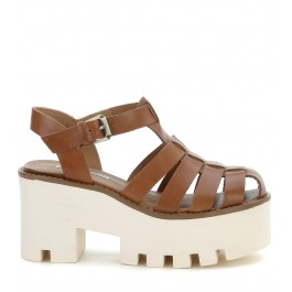 Sandales Windsor Smith en cuir couleur chamois