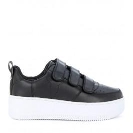 Sneaker Windsor Smith Fastt en cuir noir