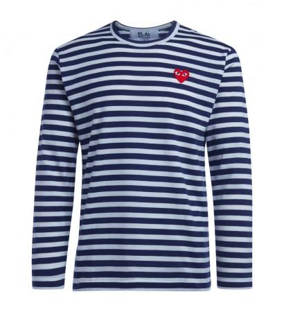T-Shirt Comme Des Garçons PLAY a righe