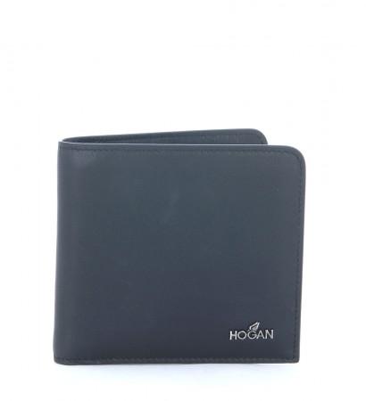 Portafoglio Hogan in pelle nera