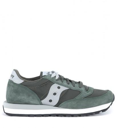 Sneaker Saucony Jazz in suede verde oliva