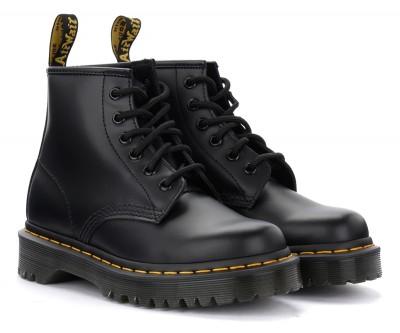 Laterale Boots Dr. Martens 101 Bex Smooth en cuir noir