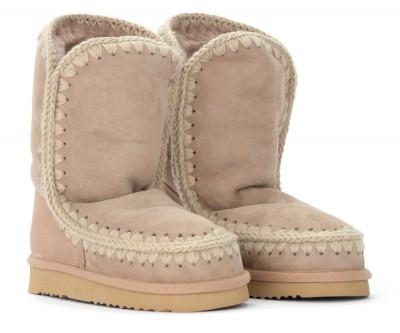 Laterale Boots Mou Eskimo 24 couleur camel