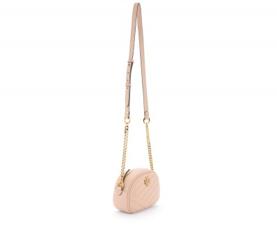 Laterale Borsa a tracolla Tory Burch Kira Small color sabbia