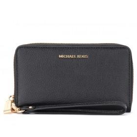 Portefeuille poignet Michael Kors noir avec porte-smartphone