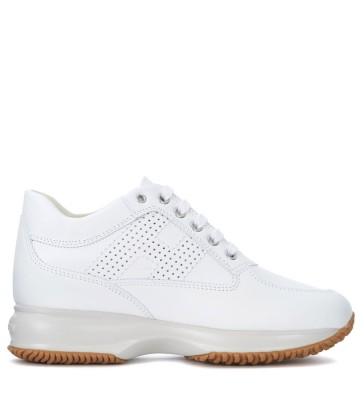 Sneaker Hogan Interactive in pelle bianca