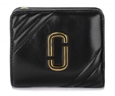 Portafoglio The Marc Jacobs Mini Compact nero