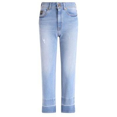 Jeans Versace Jeans Couture in denim azzurro