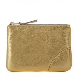 Bolso de mano Wallet Comme des Garçons en piel oro