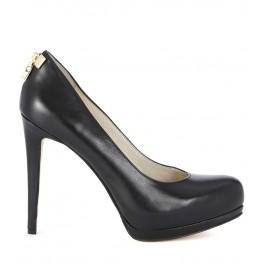 Zapato de salón Michael Kors Hamilton Pump de piel negra