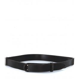 Cinturón Orciani en piel marrón oscuro