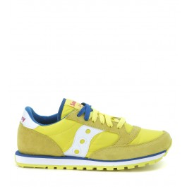 Sneaker Saucony Jazz Low Pro amarillo y blanco