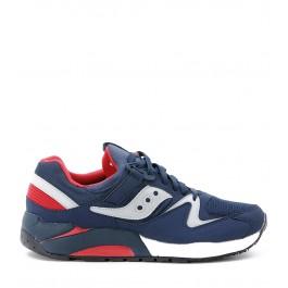 Sneaker Saucony Grid 9000 en piel azul