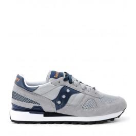 Sneaker Saucony Shadow en gamuza y tejido gris