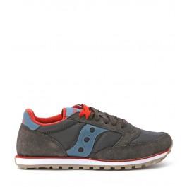 Sneaker Saucony Lowpro in camoscio marrone