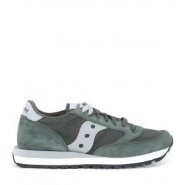 Sneaker Saucony Jazz de ante verde oliva