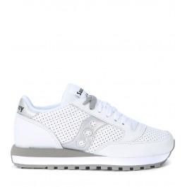 Sneaker Saucony Jazz Limited Edition en piel blanca perforada