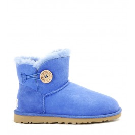 STIVALE UGG MINI BOTTONE BLU