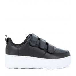 Sneaker Windsor Smith Fastt en piel negra