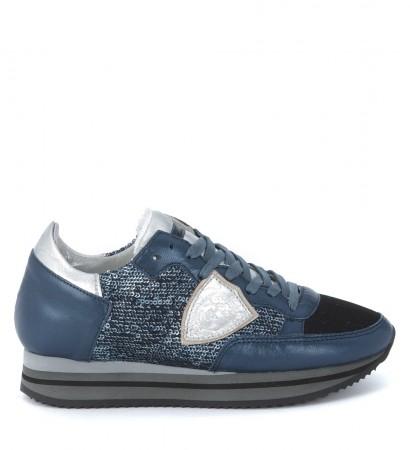 Sneaker Philippe Model Tropez Higher blu