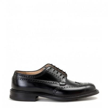 Stringata uomo Church's  mod. Cotterstock 2 in pelle nero,