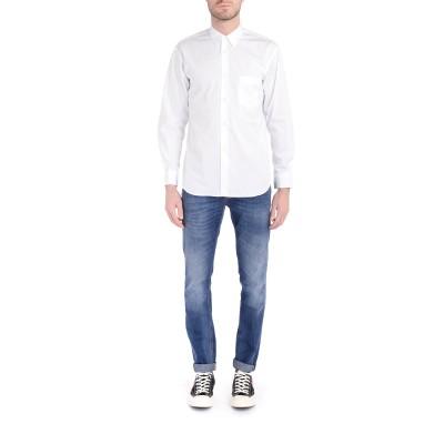 Laterale Camisa Comme Des Garçons Shirt blanca