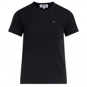 Camiseta Comme Des Garçons PLAY negra