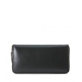 Portafoglio Comme des Garçons Wallet in pelle nera