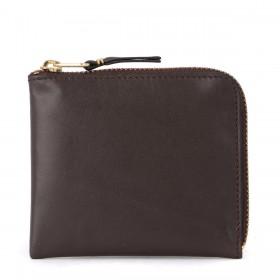 Monedero Comme Des Garçons Wallet de piel marrón