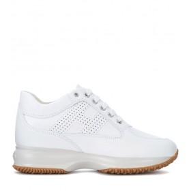 Sneaker Hogan Interactive en piel blanca