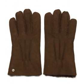 Guantes Ugg en marrón gamuzado