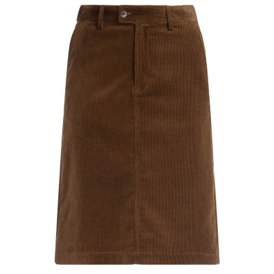 Gonna A.P.C. Carry in velluto color tabacco