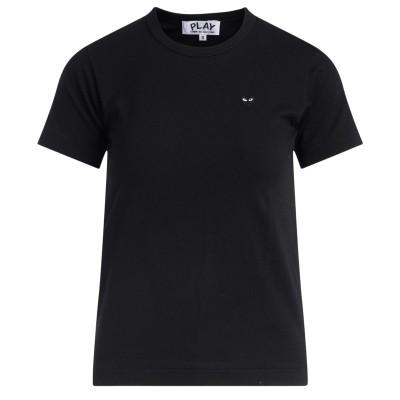 T-Shirt Comme Des Garçons PLAY nera