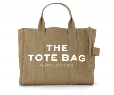 Borsa The Marc Jacobs The Small Traveler Tote Bag in canvas verde