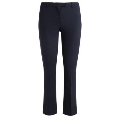 Pantaloni 'S Max Mara in cotone tecnico blu notte